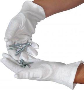 Cotton Fourchette Gloves