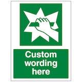 Custom Break To Obtain Sign