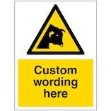 Custom Bull Sign