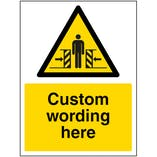 Custom Crushing Sign