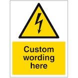 Custom Electrical Sign