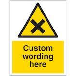 Custom Irritant Sign