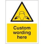 Custom Noise Sign