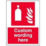 Custom Remote Release Station Sign