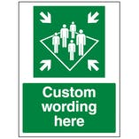 Custom Shipboard Assembly Point Sign