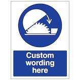 Custom Use Adjustable Guard Sign