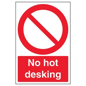 No Hot Desking
