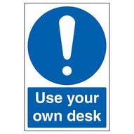 Use Your Own Desk