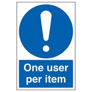 One User Per Item