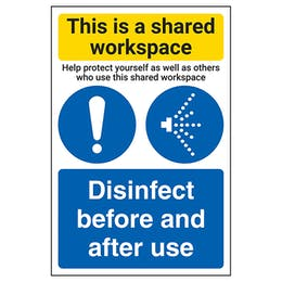 Shared Workspace/Disinfect