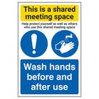 Shared Meeting Space/Wash Hands