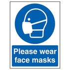 Please Wear Face Masks
