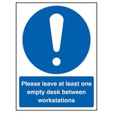 Please Leave At Least One Empty Desk
