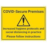 COVID-Secure Premises - Follow Instructions