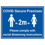 COVID-Secure Premises - Comply With Instructions
