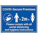 COVID-Secure Premises - Social Distancing