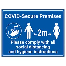 COVID-Secure Premises - Social Distancing