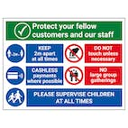 Protect Customers and Staff - Supervise Children