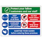 Protect Customers and Staff - Sanitise Your Hands