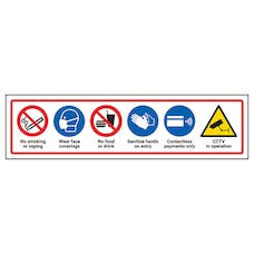 Multi-Message Vehicle Rules Label