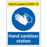 Hand Hygiene Station / Point Signs