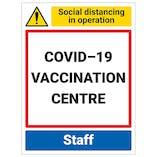 COVID-19 Vaccination Centre - Staff