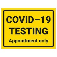 COVID-19 Testing - Appointment Only