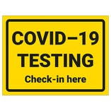 COVID-19 Testing - Check-In Here