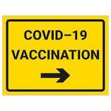 COVID-19 Vaccination - Arrow Right
