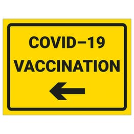 COVID-19 Vaccination - Arrow Left