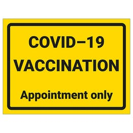 COVID-19 Vaccination - Appointment Only