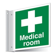 Medical Room Corridor Sign