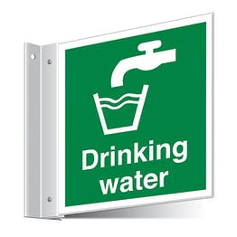 Drinking Water Corridor Sign