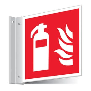 Fire Extinguisher Corridor Sign