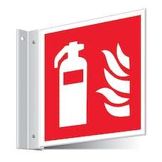 Fire Extinguisher Corridor Sign