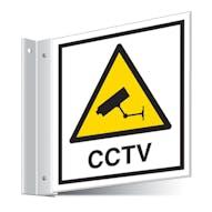CCTV Corridor Sign