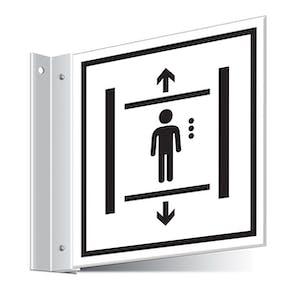 Lift Corridor Sign