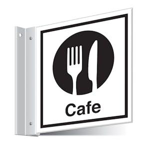 Cafe Corridor Sign