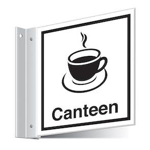 Canteen Corridor Sign