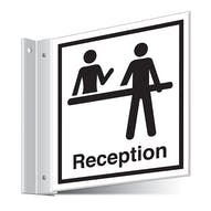 Reception Corridor Sign