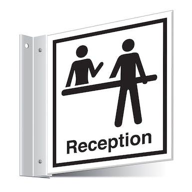 Reception Corridor Sign