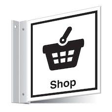 Shop Corridor Sign - Landscape