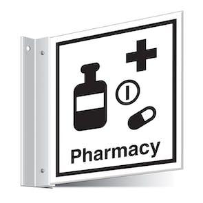 Pharmacy Corridor Sign