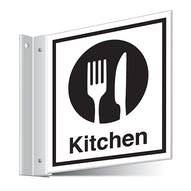 Kitchen Corridor Sign
