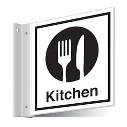 Kitchen Corridor Sign