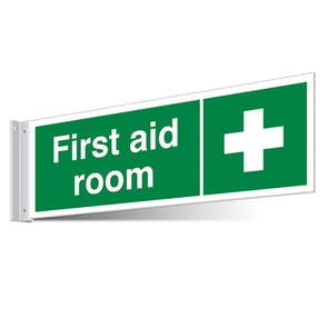 First Aid Room Corridor Sign - Landscape