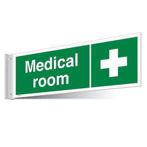 Medical Room Corridor Sign - Landscape