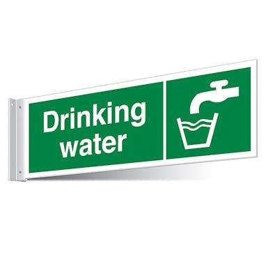 Drinking Water Corridor Sign - Landscape