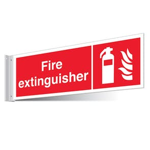 Fire Extinguisher Corridor Sign - Landscape