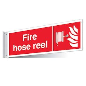 Fire Hose Reel Corridor Sign - Landscape